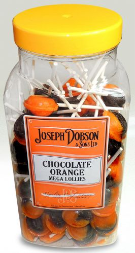 R94 DOBSONS CHOCOLATE ORANGE LOLLY 1X90